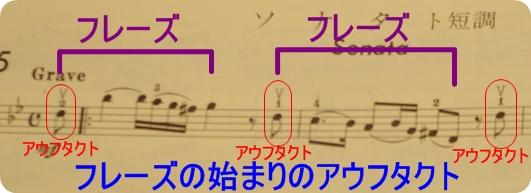 バイオリンのアップボー(上げ弓...
